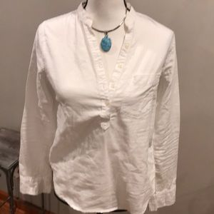 Abercrombie and Fitch white button down